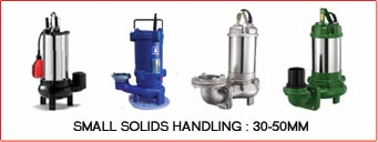 SMALL SOLIDS HANDLING : 30-50MM